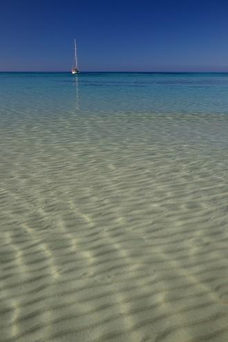 - Imagen de las cristalinas aguas del Mediterráneo -