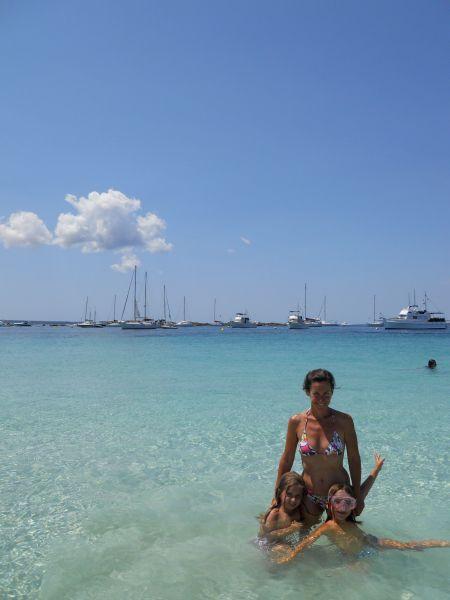 Un escenario perfecto para unas vacaciones en famila: Espalmador