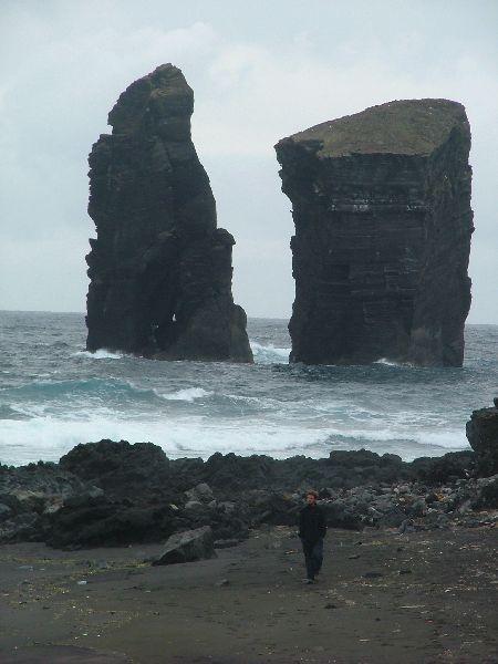 Isla de S. Miguel. Durante la escala en Azores, aprovechamos para conocer los impresionantes paisajes de estas islas volcanicas.